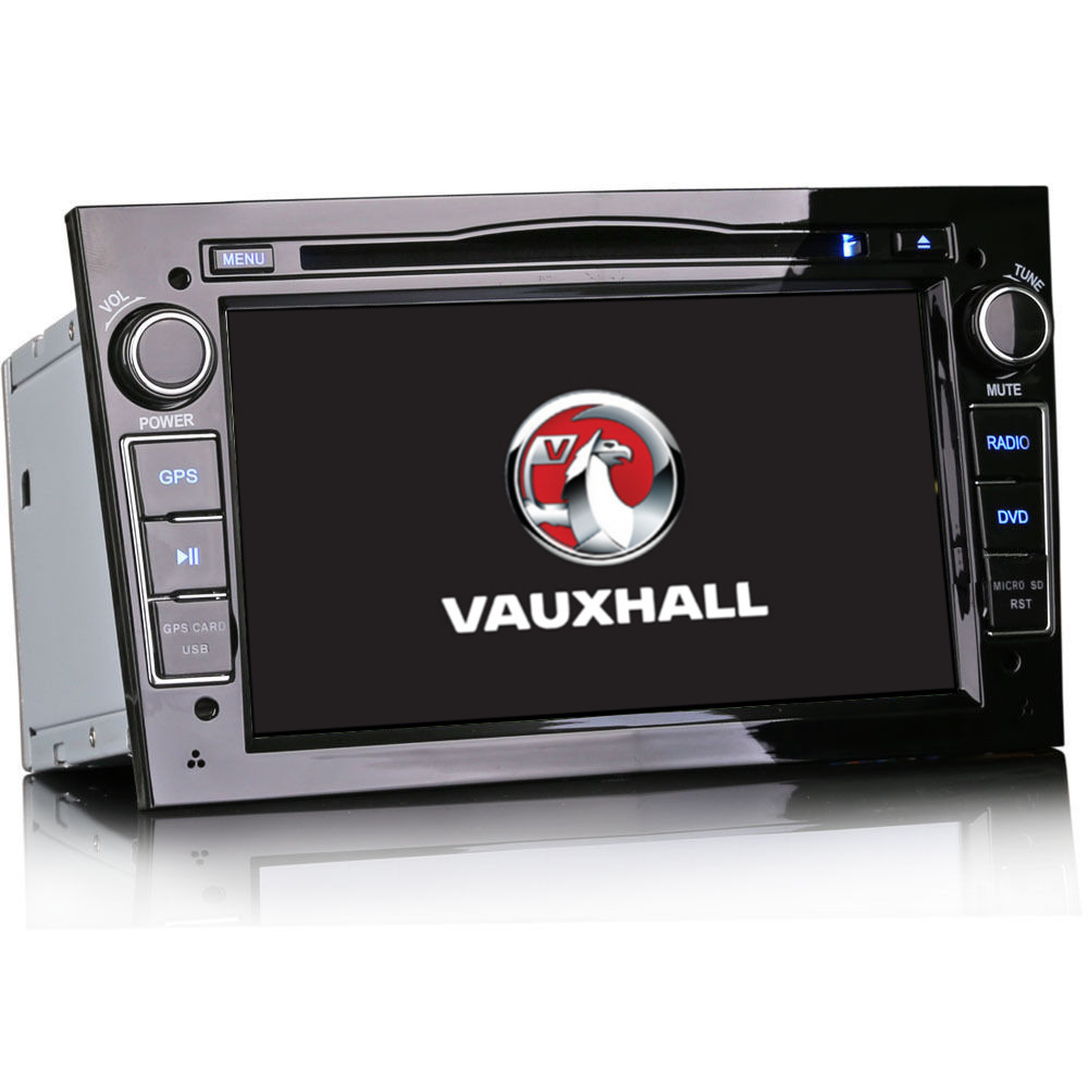 vauxhall astra h mk5 7 piano black car stereo sat nav. Black Bedroom Furniture Sets. Home Design Ideas