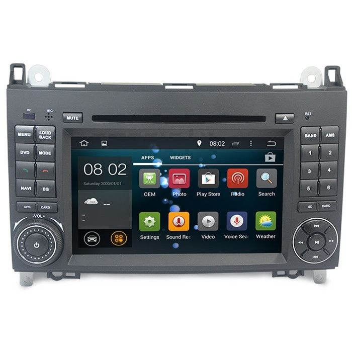 mercedes vito viano w639 android 5 1 headunit radio stereo. Black Bedroom Furniture Sets. Home Design Ideas