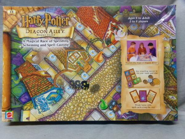 harry potter board game instructions