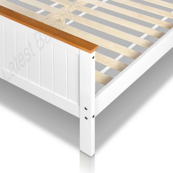 100 Bed Frames Slats Pine Wood Queen Bed Frame With Timber