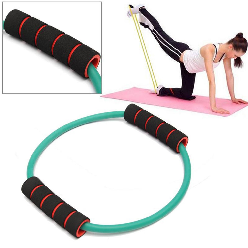 Latex Puller Resistance Bands Training Yoga Tube Fitness