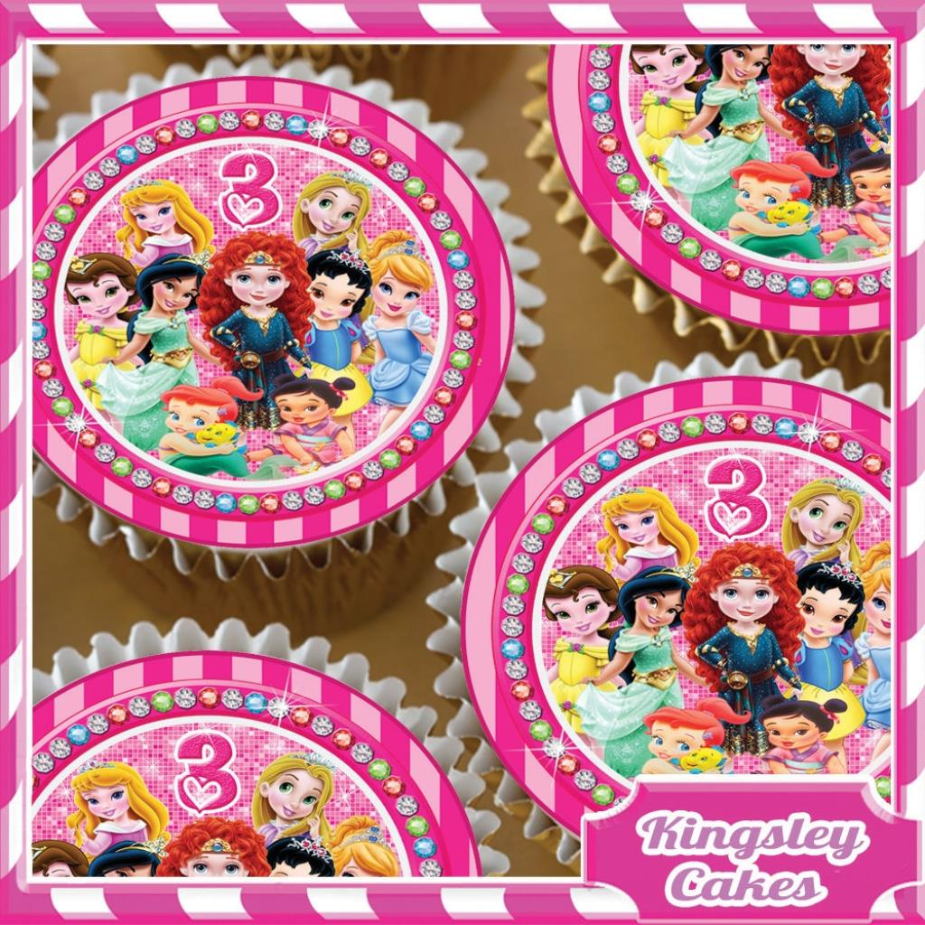 3RD BIRTHDAY CUPCAKE TOPPERS KC0483 24 Many Thanks For Looking At Our Product Today