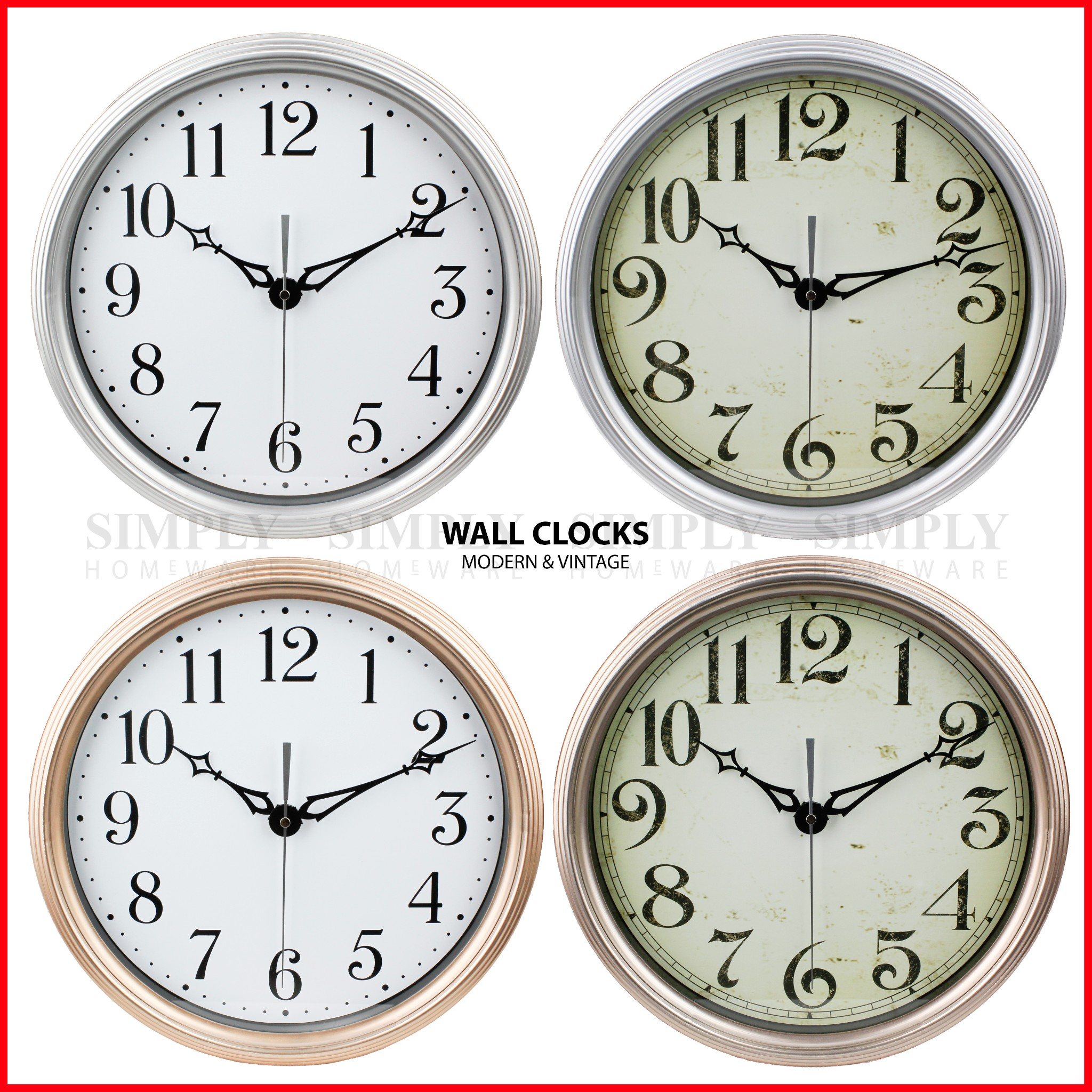 premium wall clocks