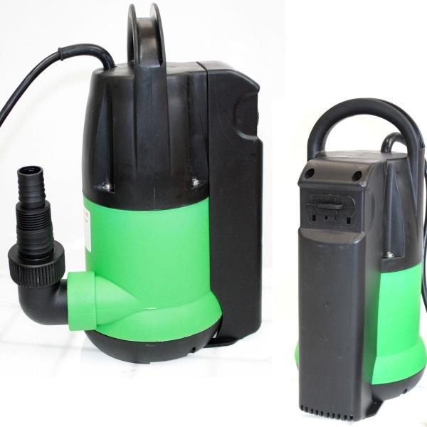 3 4 hp 2650gph submersible dirty clean water sump pump for Pond drain pump