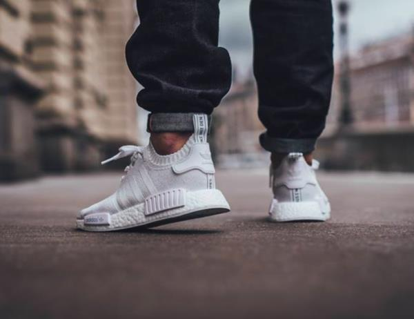 Gucci Nmd White. On Feet And Reviewing Of Adidas . NMD R1 Gucci