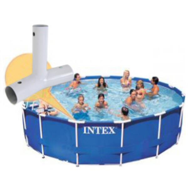 Intex Tee Joint For 14 15 16 And 18 Ft Diameter Metal Frame Pool 10861 Ebay
