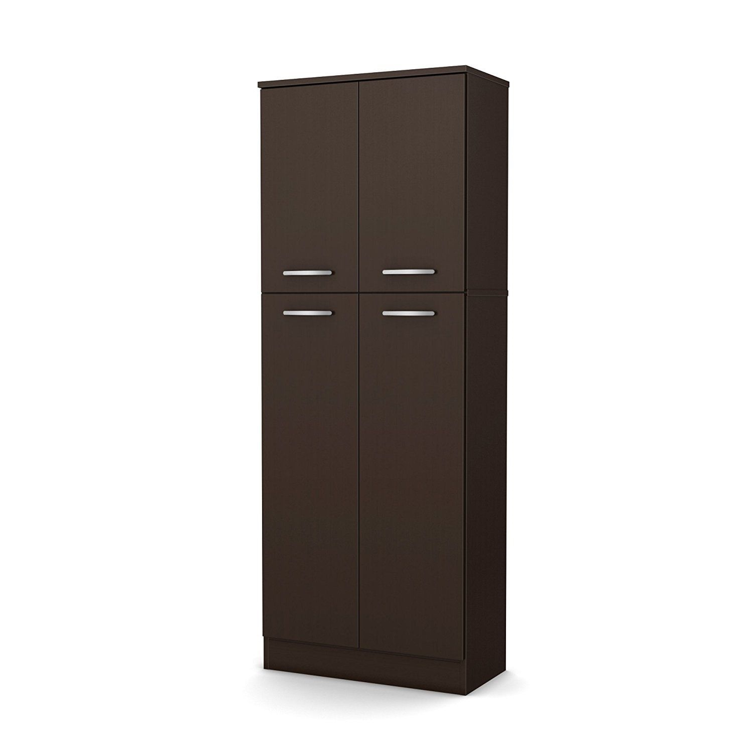 New pantry storage cabinet shelving laundry room closet for Kitchen closet cabinets