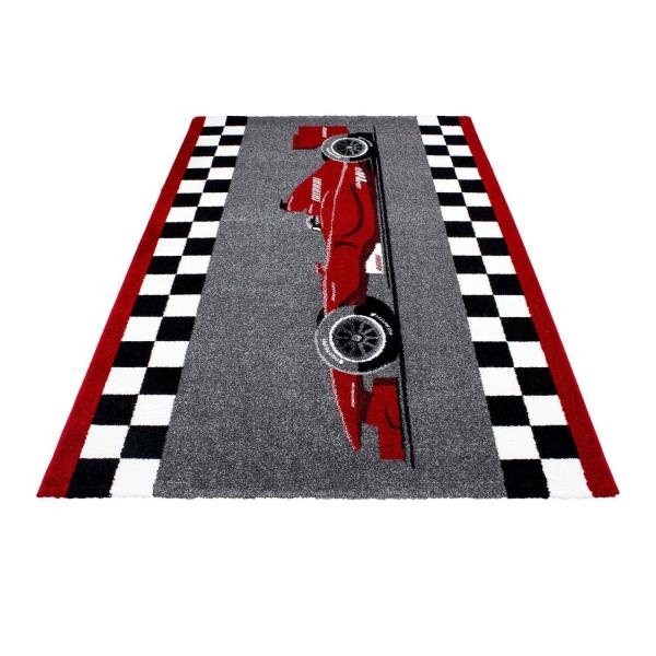 Childrens Rug F1 Sports Racing Car Design Kids Bedroom