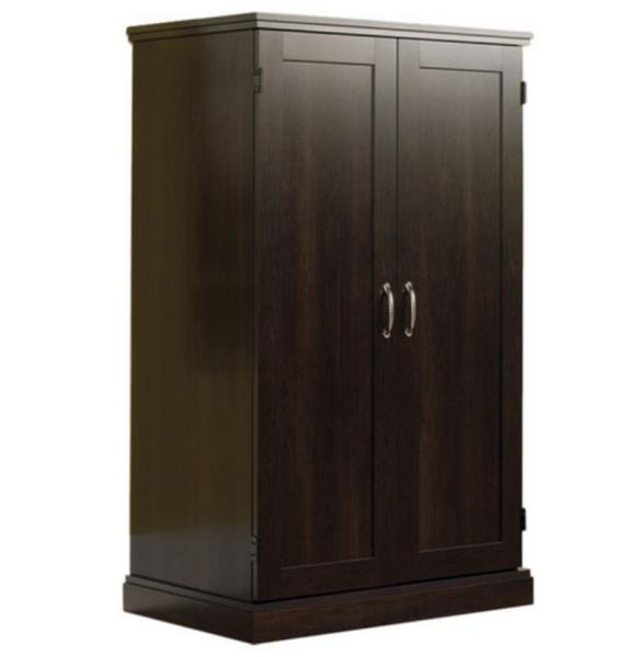 modern computer armoire image. Black Bedroom Furniture Sets. Home Design Ideas