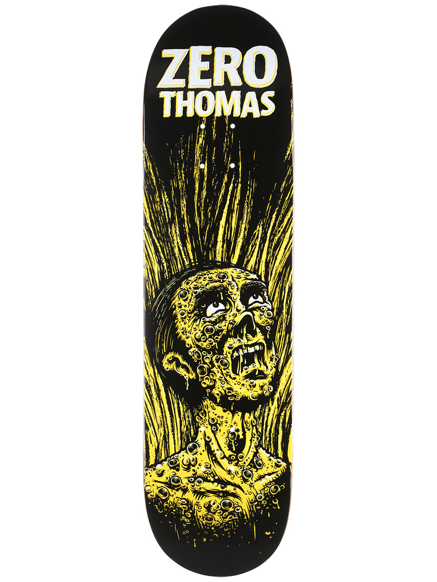 Zero Skateboard Deck Jamie Thomas 8.25 Apocalypse IL FREE POST and GRIP New