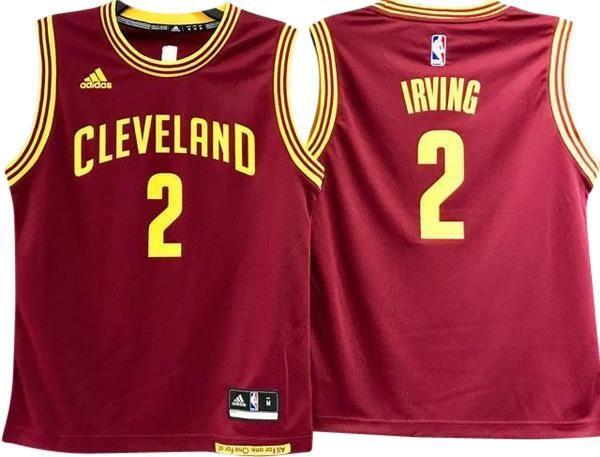 ... KYRIE IRVING CLEVELAND CAVALIERS NBA AWAY YOUTH JERSEY ... 2c392f453