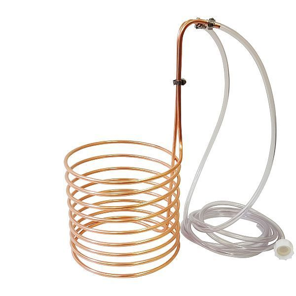 1 4 Quot X 20 Copper Wort Chiller Homebrew Beer Immersion