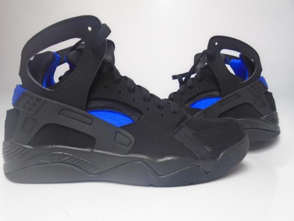 Nike Air Huarache Black And Blue