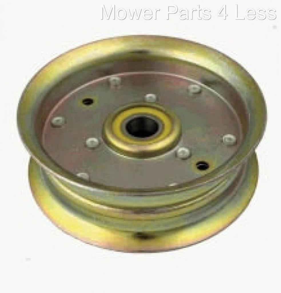 Rope Idler Pulley : Replacement flat idler pulley fits john deere series