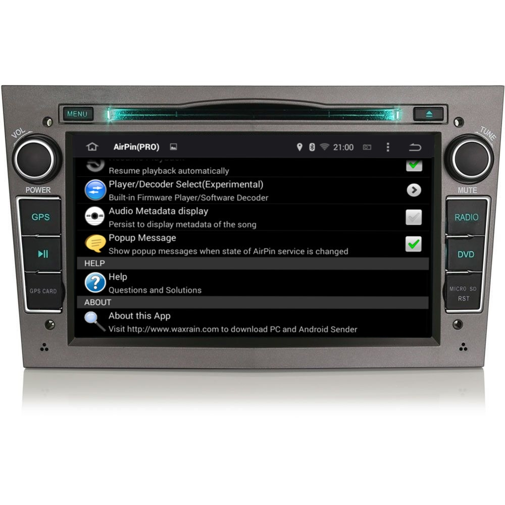 vauxhall corsa c d vxr android 5 1 headunit dab radio. Black Bedroom Furniture Sets. Home Design Ideas