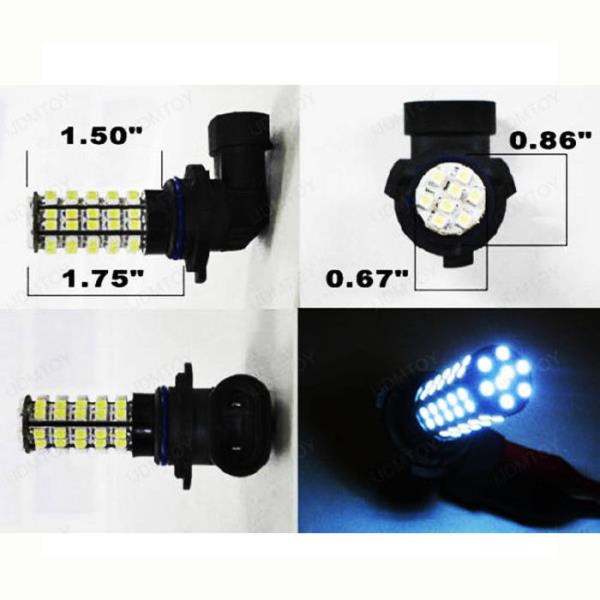 9005 LED Bulbs W/ Special Decoder For Acura TL High Beam