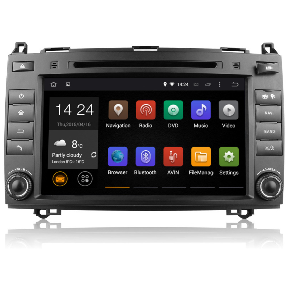 mercedes b class w245 android 5 1 head unit bt wifi sat. Black Bedroom Furniture Sets. Home Design Ideas