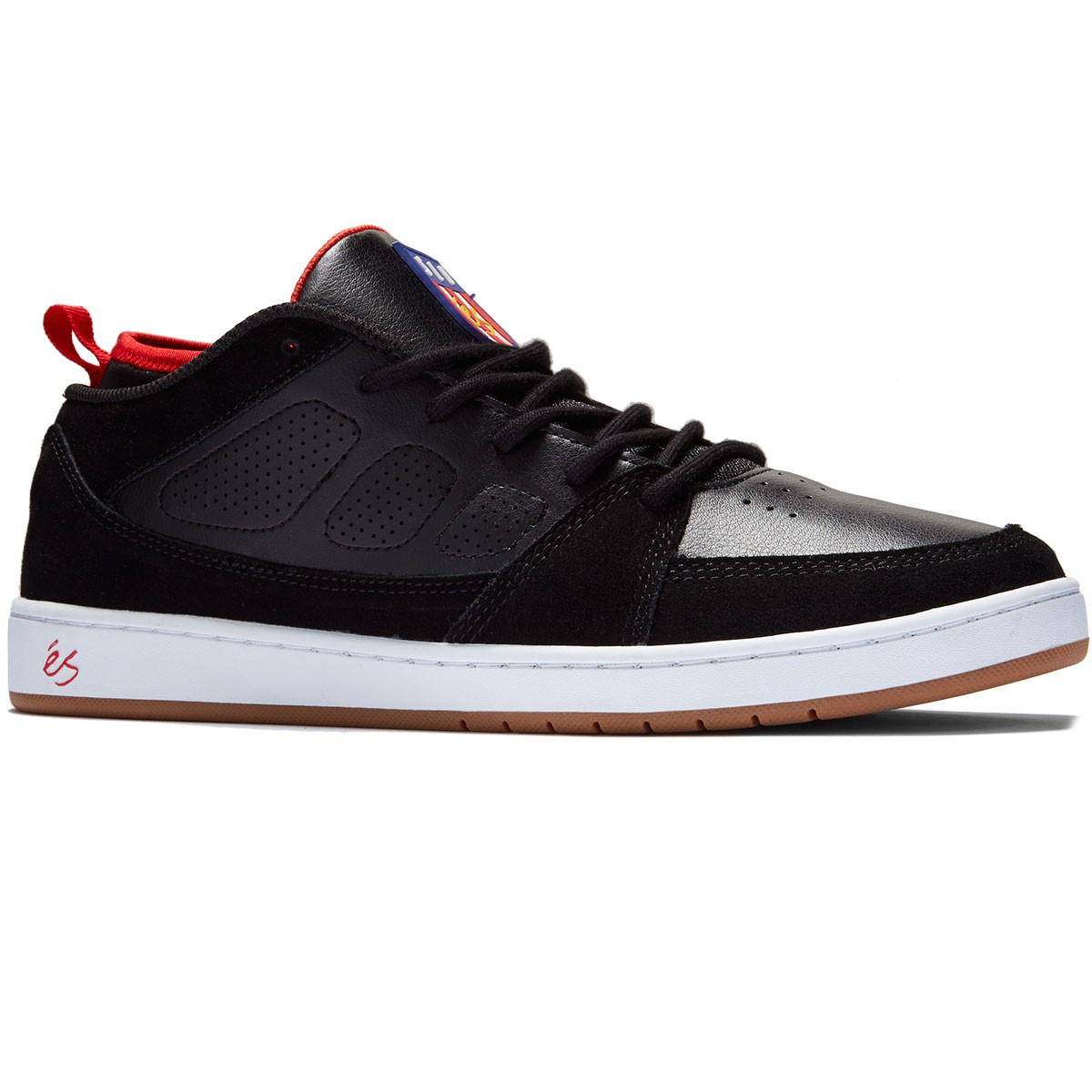 eS Shoes SLB MID Black FREE POST New Skateboard Sneakers