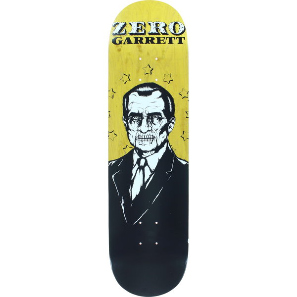 Zero Skateboard Deck Garrett Hill Dead Presidents 8.25 R7 FREE POST FREE GRIP New kingpin skate supply