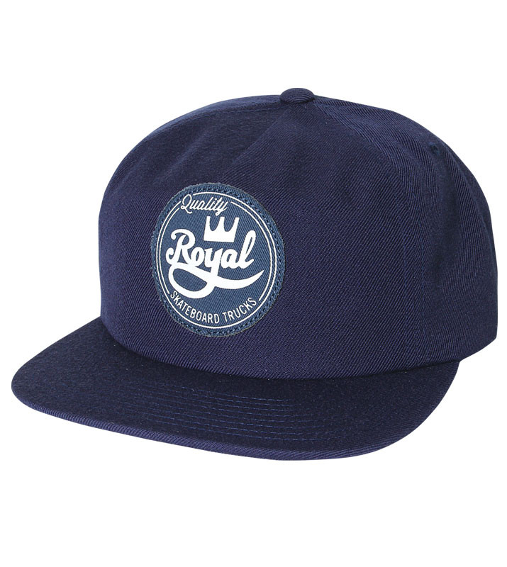 Royal Trucks Cap Seal Navy Unstructured FREE POST New Skateboard Snapback Hat OSFA