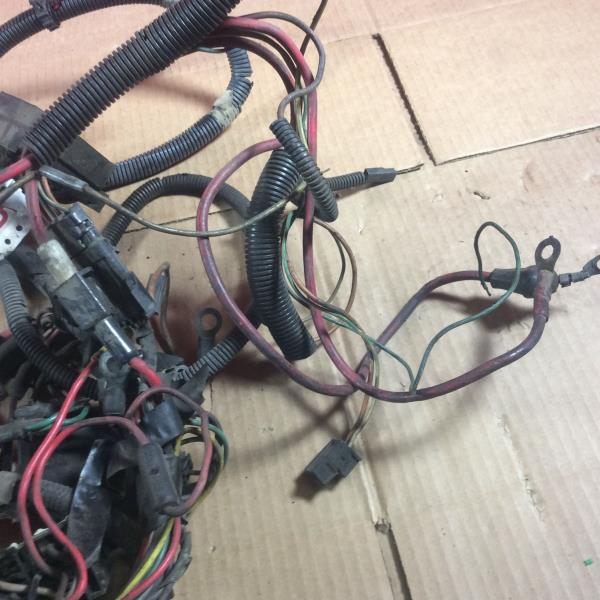 85 86 jeep cherokee xj 2 1l diesel underhood engine wiring harness 303 666 9020