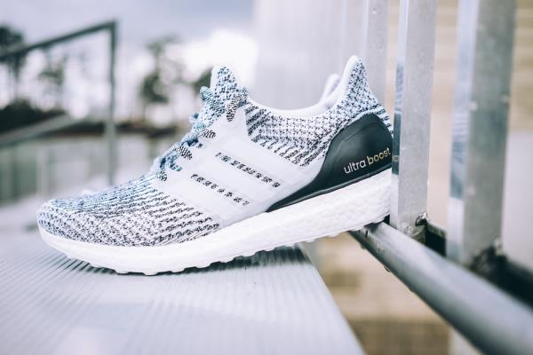 UA Ultra Boost 3.0 Black White artemisoutlet