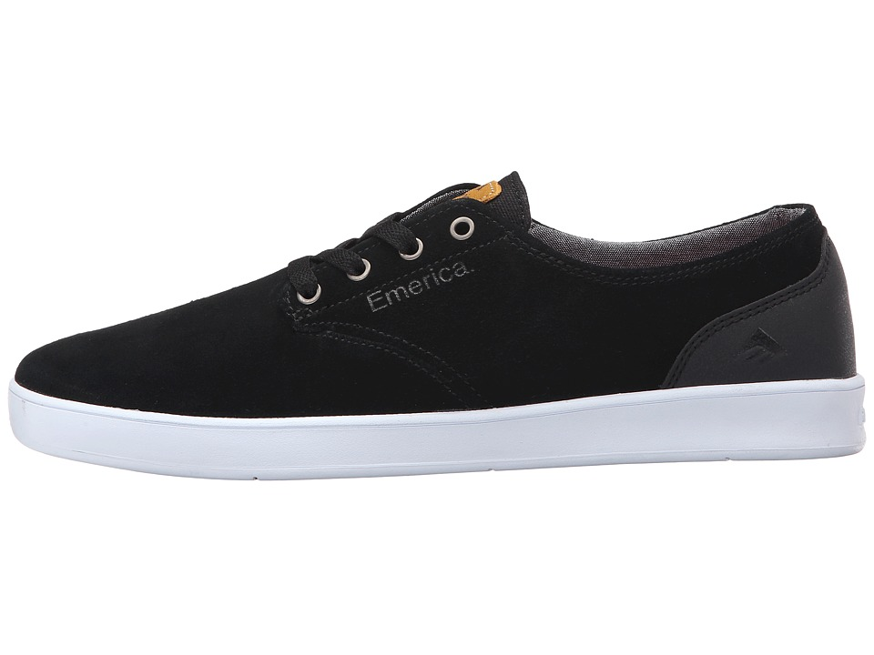 Emerica Shoes Laced Romero Black White USA Skateboard Sneakers
