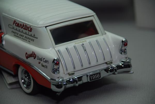 Franklin mint 1956 chevy nomad service wagon b11xt93 for Nomad service