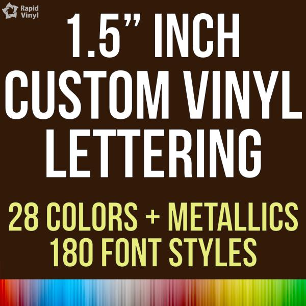Custom Vinyl Lettering Text Name Decal Car Sticker - Custom vinyl lettering car decals