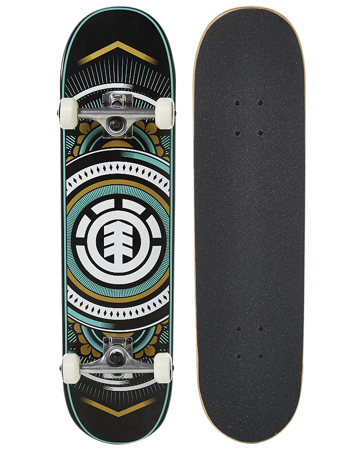 Element Skateboard Complete Hatched 8 New FREE POST