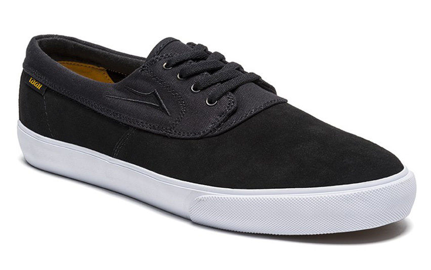 Lakai Shoes Camby Black Suede US SIZE FREE POST New Skateboard Sneakers