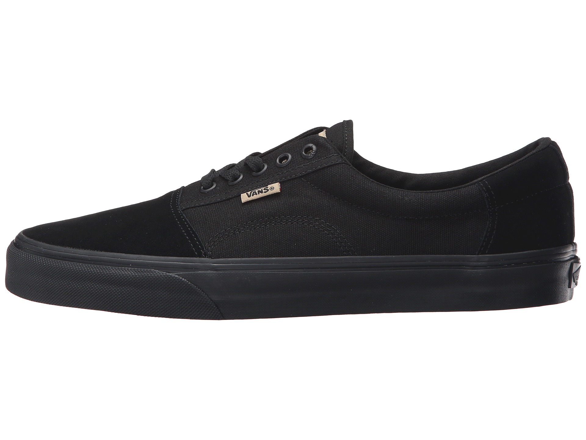 Vans Shoes Geoff Rowley Solos Black Black New Classic Skateboard Sneakers FREE POST