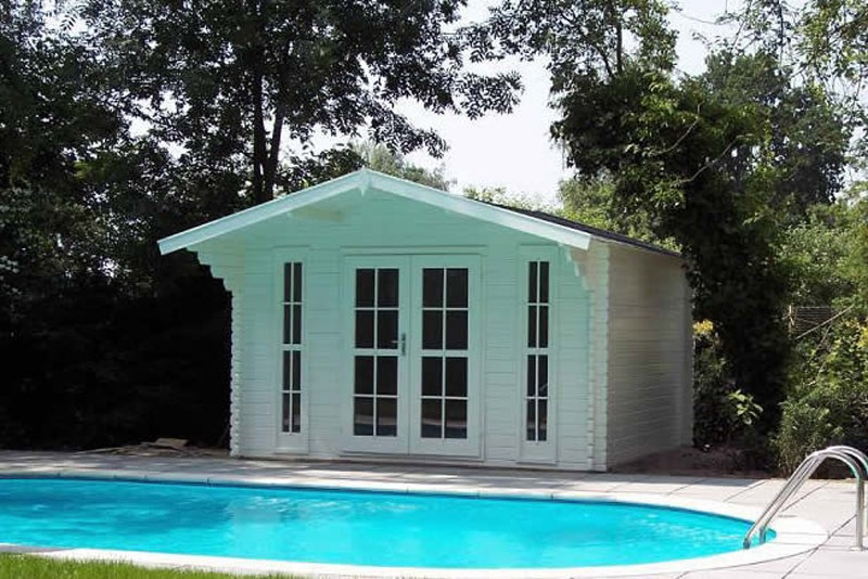 13 39 x10 39 storage shed garden shed pool house bristol ebay for Garden pool sheds