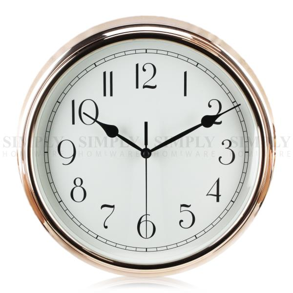 Modern Wall Clock Silent Clocks Retro Kitchen Large Non