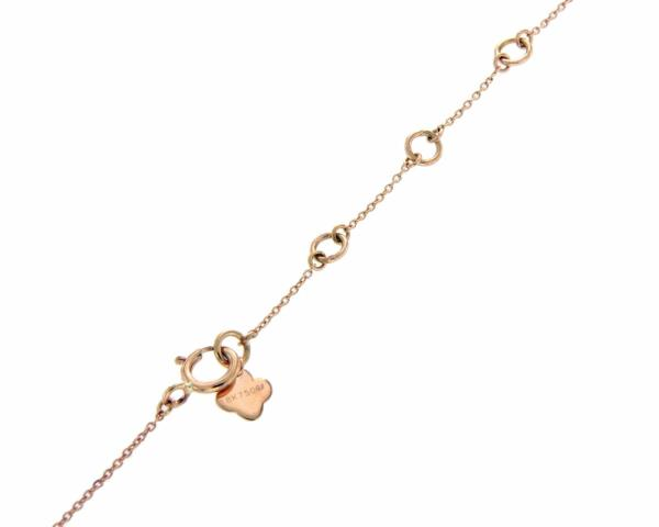 012 ct diamonds 18k rose gold sideways cross pendant necklace size luxo jewelry news letter premium jewelry 012 ct diamonds 18k rose gold sideways cross mozeypictures Images