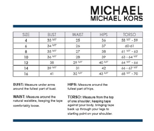 Michael Kors Toddler Shoes Size Chart