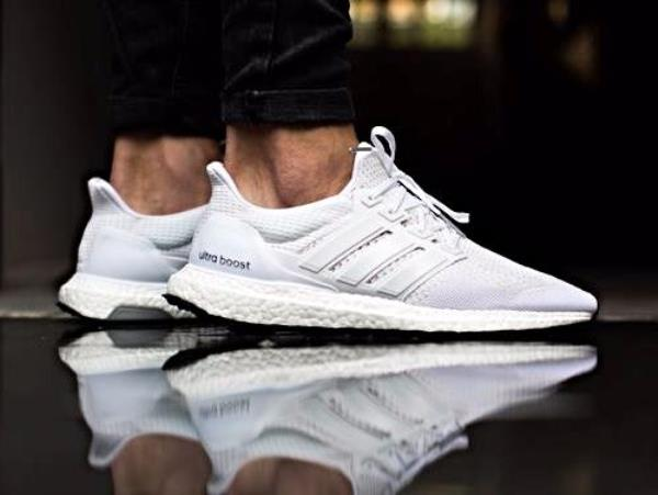 Adidas Ultra Boost Mens White 3.0