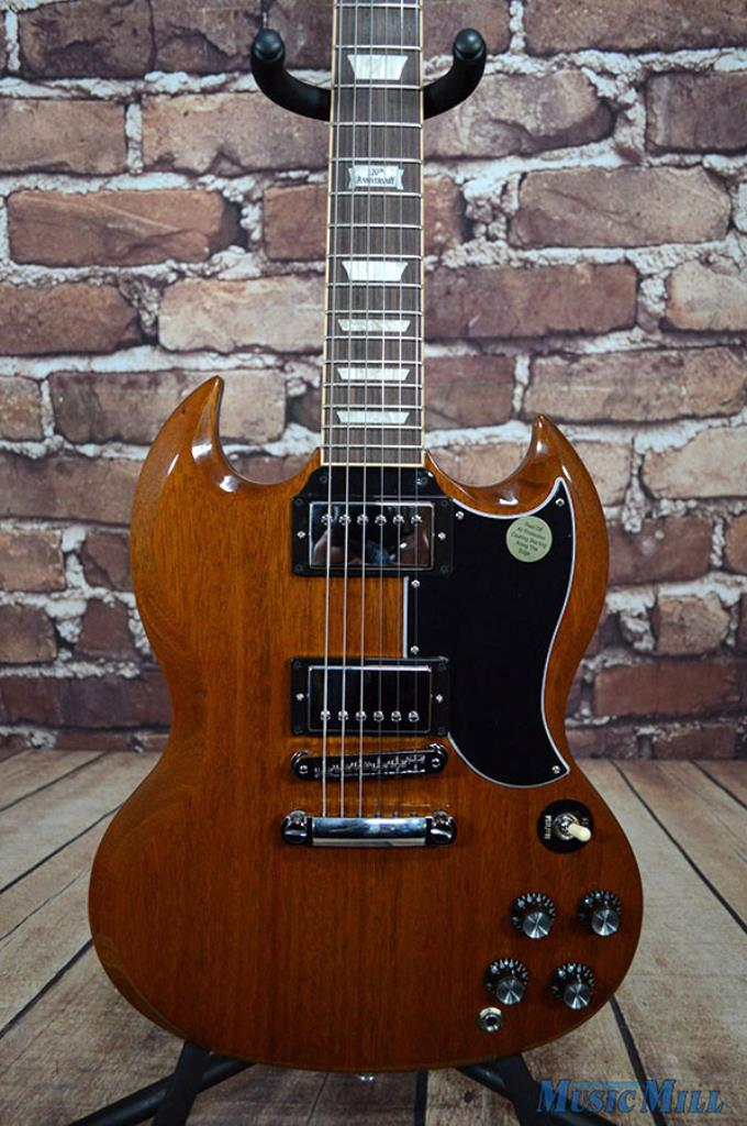 nos 2014 gibson sg standard walnut electric guitar w case deluxe tuners ebay. Black Bedroom Furniture Sets. Home Design Ideas