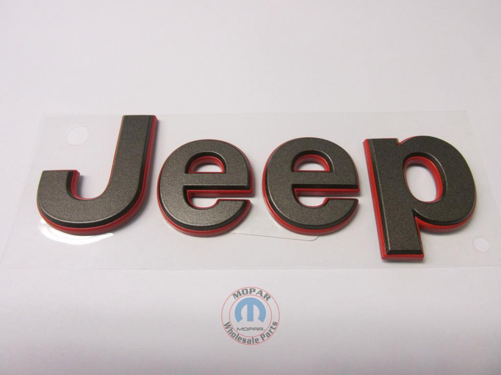 Jeep Wrangler 75th Anniversary Bronze Amp Red Quot Jeep Quot Grille