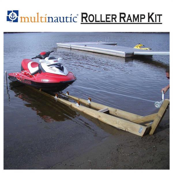 new boat ramp kit diy for small boats or personal. Black Bedroom Furniture Sets. Home Design Ideas