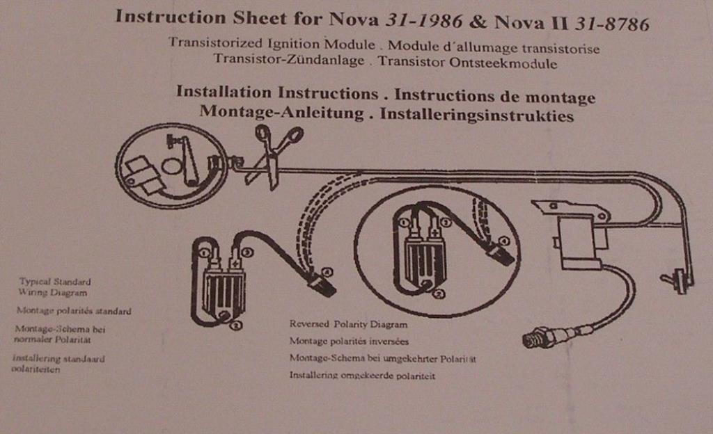 nova ii ignition module instructions