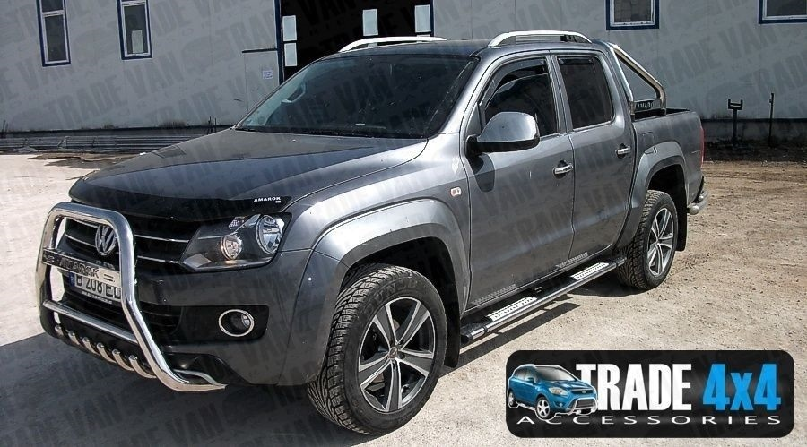 vw amarok dachtr ger tr ger querstangen aluminium volkswagen 4x4 pickup ebay. Black Bedroom Furniture Sets. Home Design Ideas