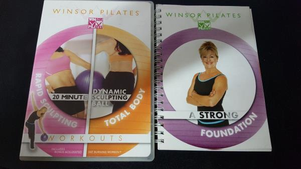 Winsor Pilates Workouts Dvd With Book