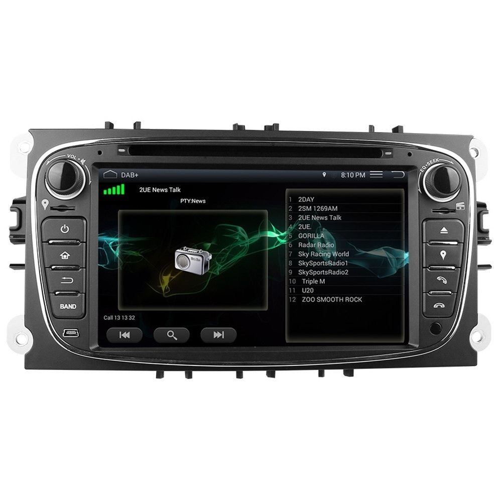 ford mondeo mk4 black android 5 1 headunit dab radio gps. Black Bedroom Furniture Sets. Home Design Ideas