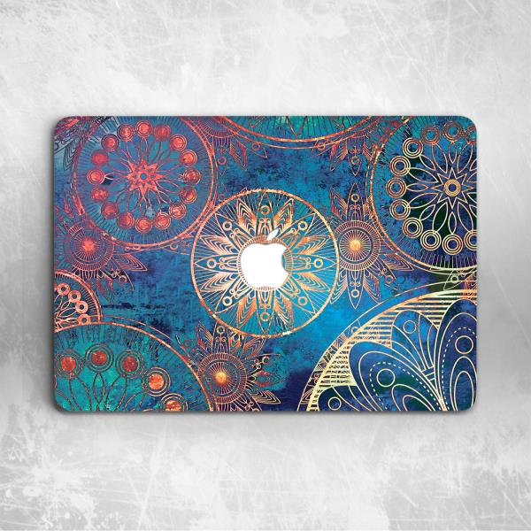 Art Henna Mandala Hard Cover Case For Apple Macbook Pro