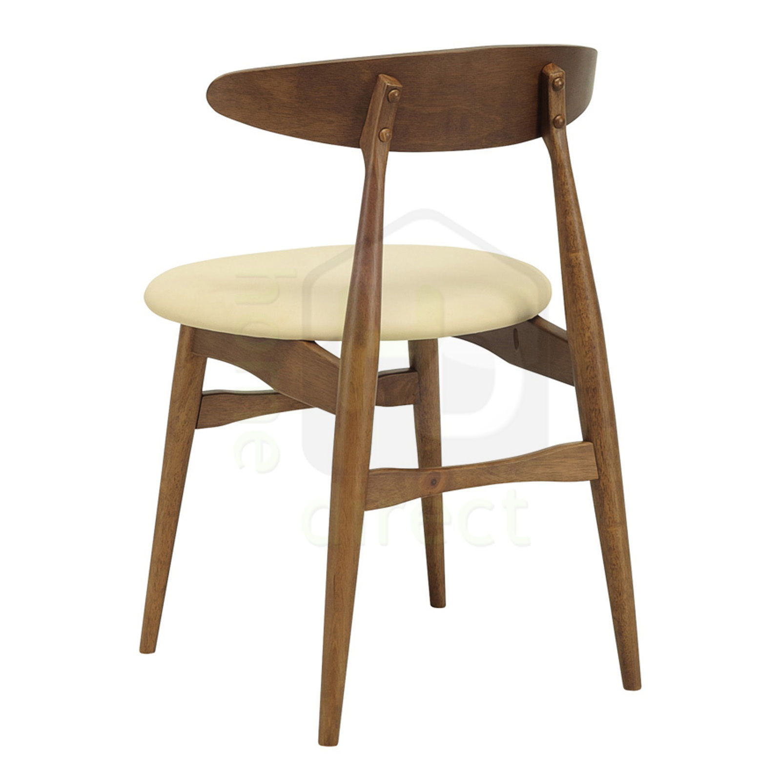 Www Modern Furniture: 2x TELYN Scandinavian Retro Modern Wooden Dining Chair