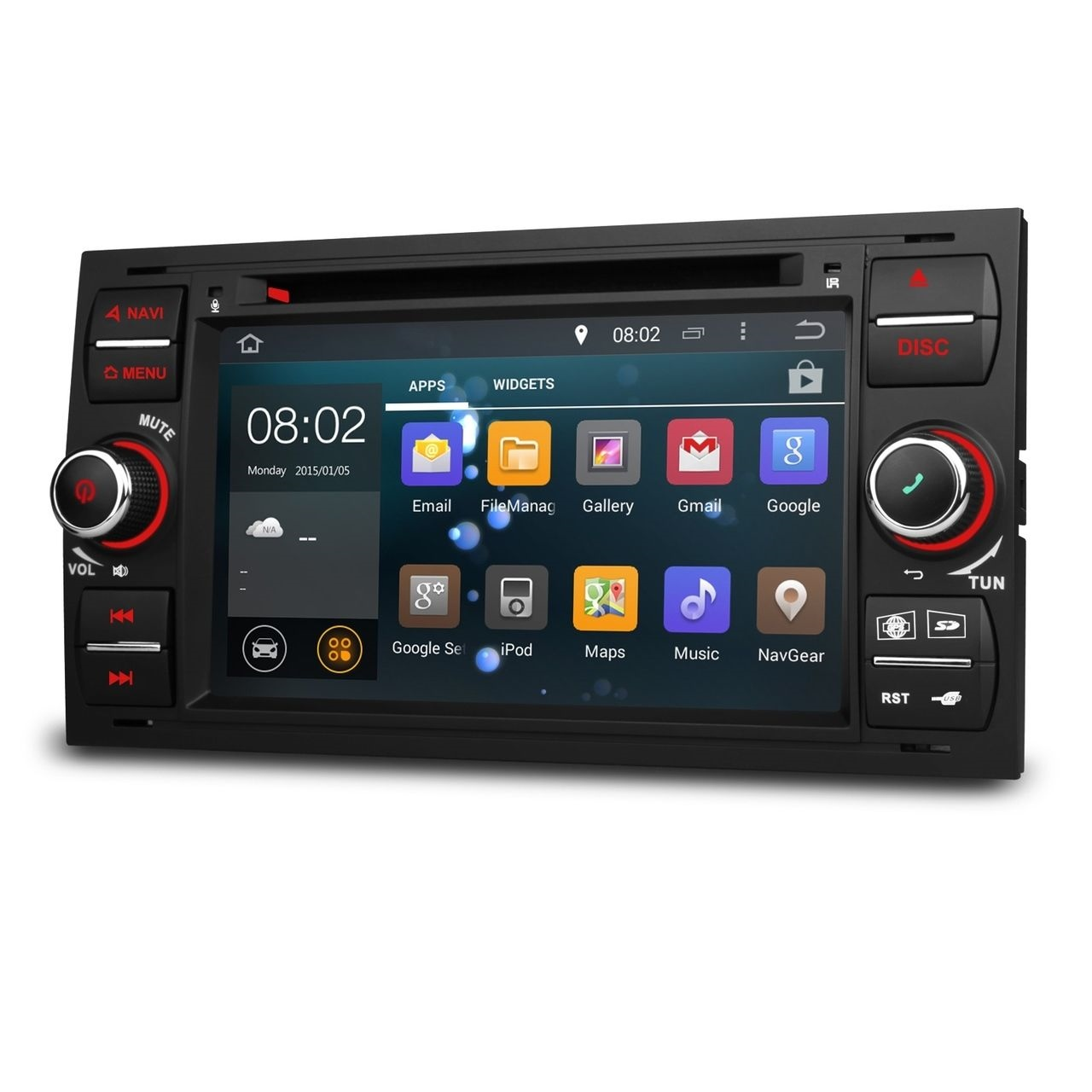 ford mondeo mk3 s max android 5 1 head unit radio stereo. Black Bedroom Furniture Sets. Home Design Ideas