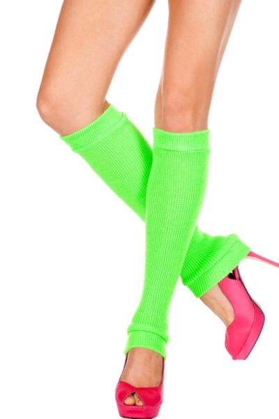 Adult blue leg warmers dance