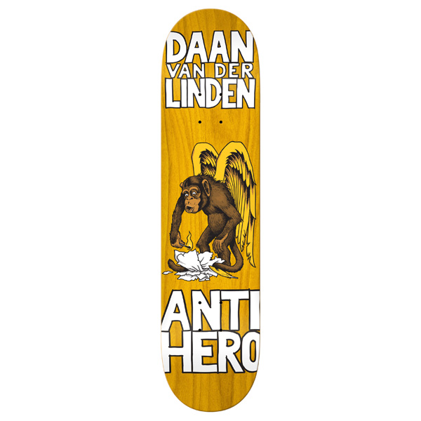 Anti Hero Skateboard Deck First Daan 8.25 Van Der Linden Antihero Board FREE POST and Grip