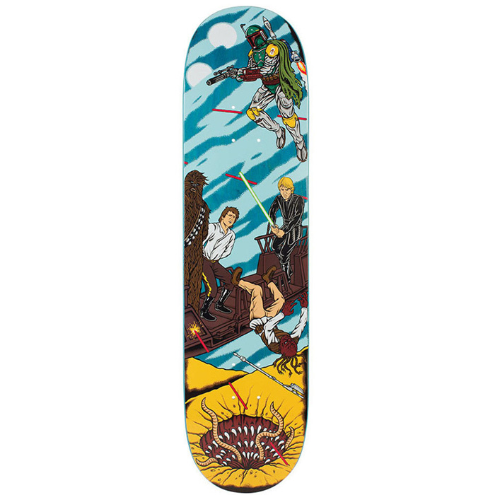 Santa Cruz Skateboards x Star Wars Sarlacc Pit Scene 8 New Free Post & Grip